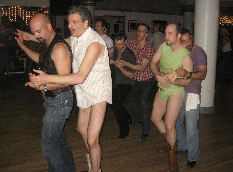 gay country western dancing