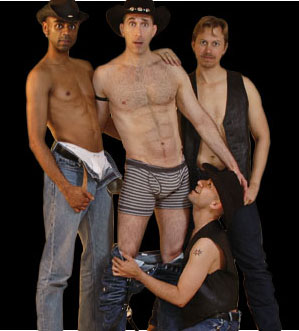 Gay Cowboys at the Big Apple Ranch pants down