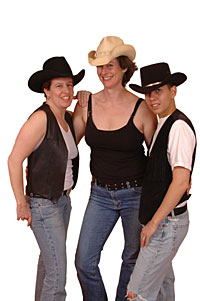 Lebian Cowgirls at the Big Apple Ranch